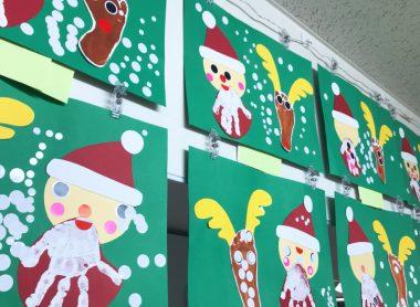 クリスマスの製作