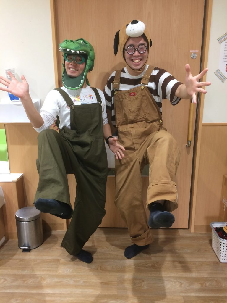 イケイケさんとシロシロさん